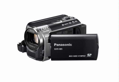 De Panasonic SDR-H85 heeft een harde schijf van 80 GB aan boord.