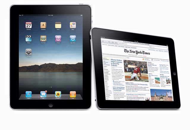 iPad nog niet naar de Benelux.