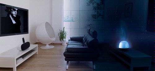 De SoundOrb Aurora van Gear4 combineert beeld, geluid en licht op originele wijze.