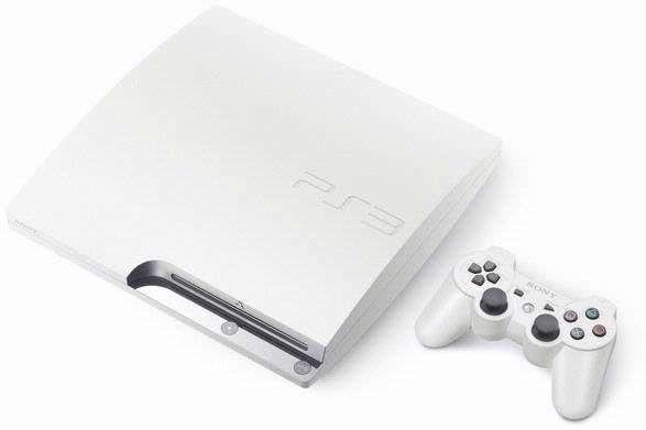 Japan krijgt vanaf 29 juli een witte versie van de PS3 Slim. beeld: Engadget