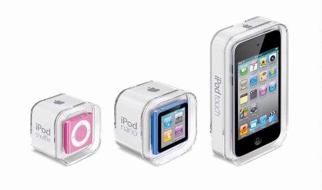 Apple lanceert nieuwe iPods