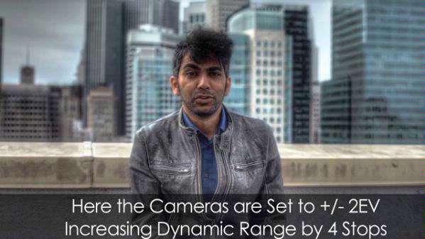 Kleine filmstudio maakt HDR-video