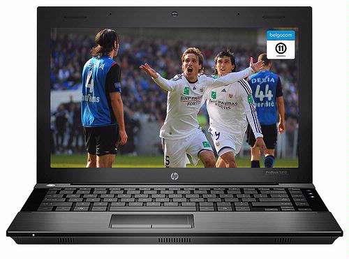 Belgacom lanceert TV on pc en biedt ook niet-klanten live eersteklassevoetbal aan via het internet.
