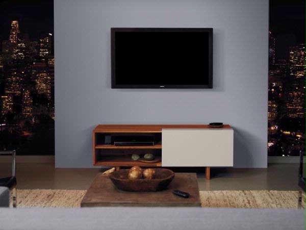 De VideoWave combineert een lcd-tv en compleet geluidssysteem met een minimum aan kabels.