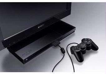 Sony brengt een lcd-televisie op de markt met een ingebouwde Playstation 2-console.