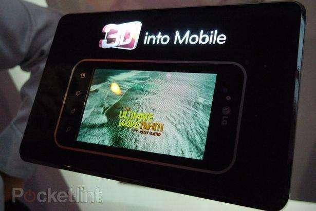 Het ziet ernaar uit dat LG volgende maand een 3D-smartphone gaat voorstellen. (beeld: Pocket-lint)