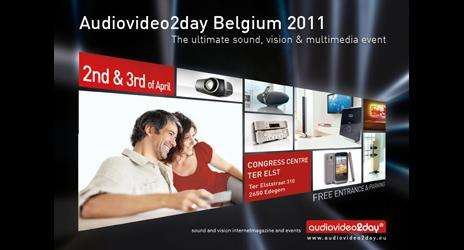 AudioVideo2day Belgium Show in Edegem op 2 en 3 april