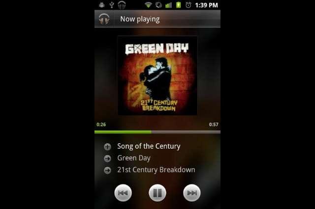 Er is een nieuwe testversie opgedoken van de Android Music 3.0-app. (beeld: techfrom10)