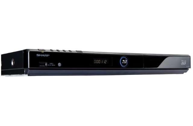 Blu-ray-spelers Sharp doen het draadloos