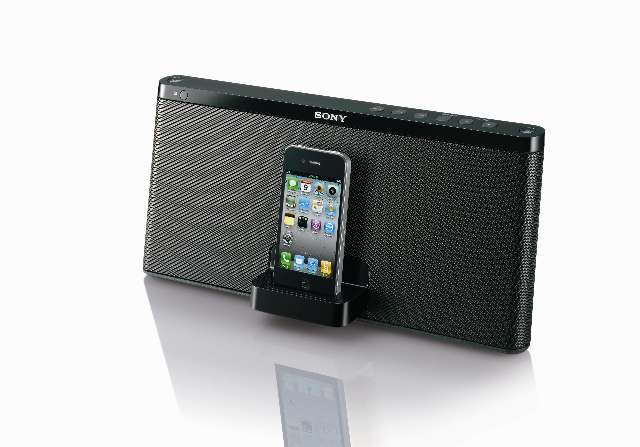 Sony doet de iPod-dock