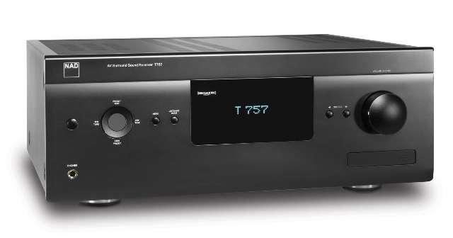 NAD introduceert T757 AV-receiver