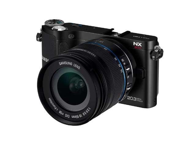 Samsung NX200 gaat voor Full HD