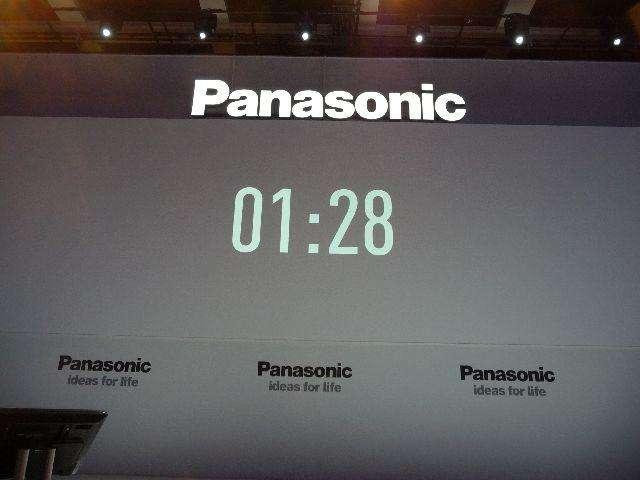 Overzicht: Panasonic persconferentie op IFA 2011