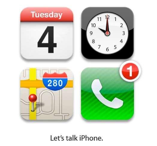 Apple wil het op 4 oktober over de iPhone hebben