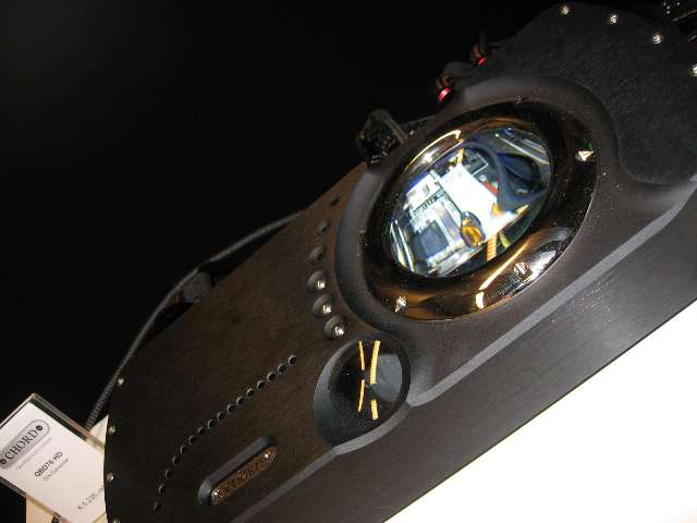 Detail van de Chord QBD76HD DAC