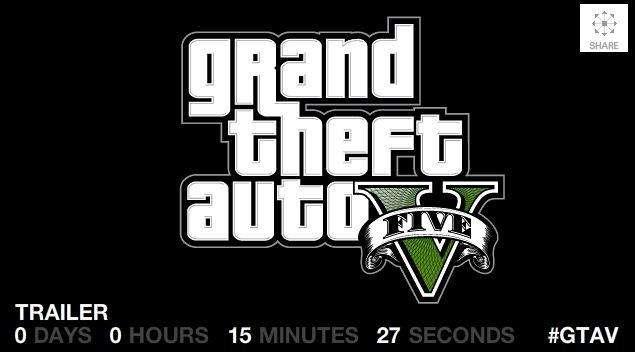 Rockstar Games geeft een trailer van Grand Theft Auto V vrij.