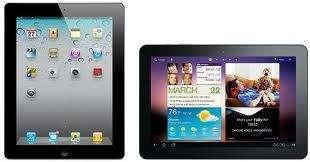 Samsung zou nog voor Apple een tablet van de nieuwe generatie op de markt brengen.
