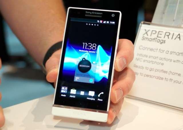De eerste smartphone van Sony