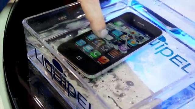 Nanocoating maakt je smartphone waterbestendig