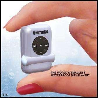 Kleinste waterproof MP3-speler ter wereld