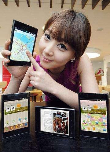 LG toont concurrent voor Galaxy Note