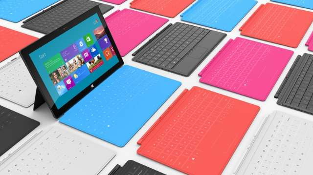 Prijzen van Surface-tablets gelekt