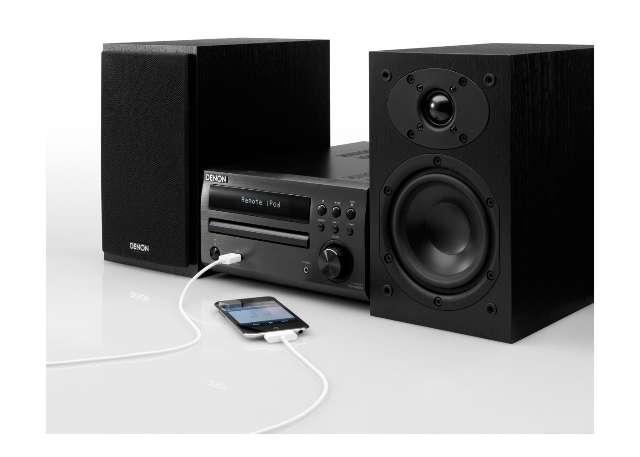 Audio in klein formaat bij Denon