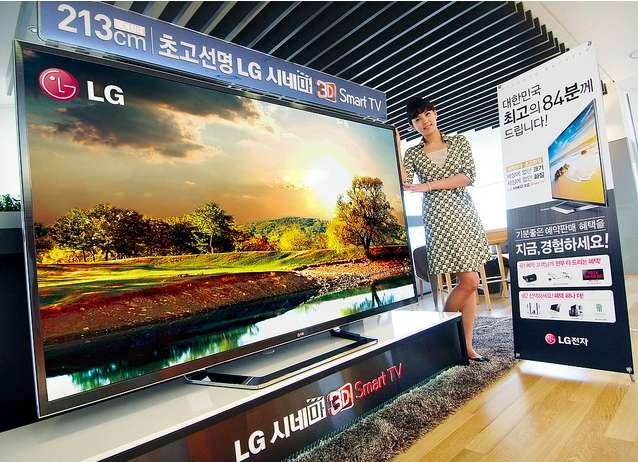 LG bouwt 84 inch 4K-monster