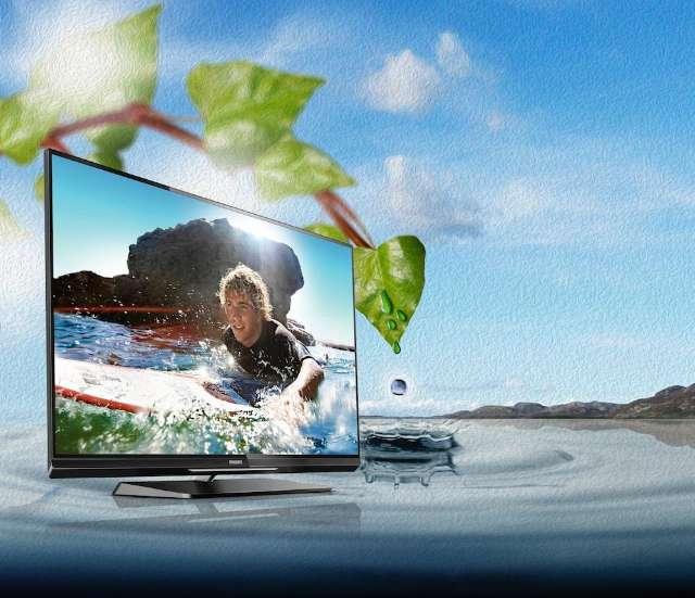 Beste groene tv: Philips 55PFL6007