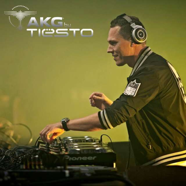 Trendy hoofdtelefoons in AKG by Tiësto Series
