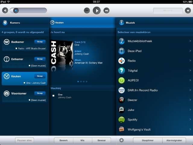 Sonos laat iPad rechtstreeks streamen