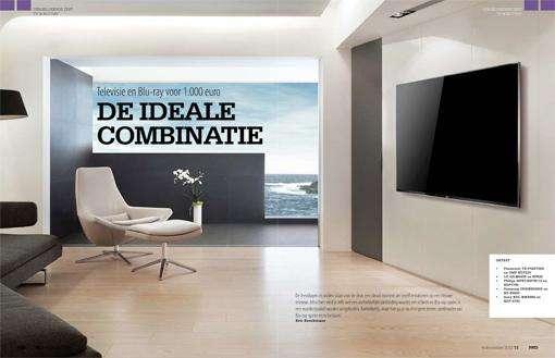 Vergelijkende test: TV en Blu-ray combinaties