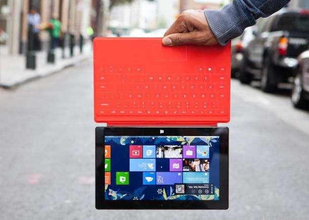 Microsoft Surface-tablet beschikbaar in België en Nederland