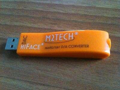 Betaalbare hiFace USB-DAC bij M2Tech