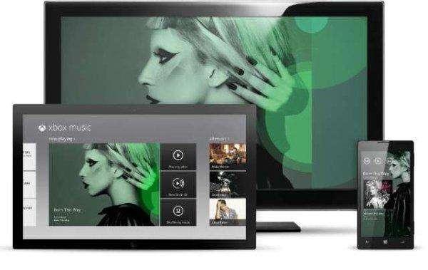 Microsoft lanceert Xbox Music in de browser