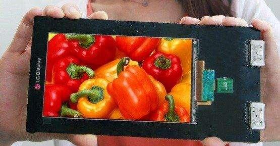 LG ontwikkelt smartphonescherm met Quad HD