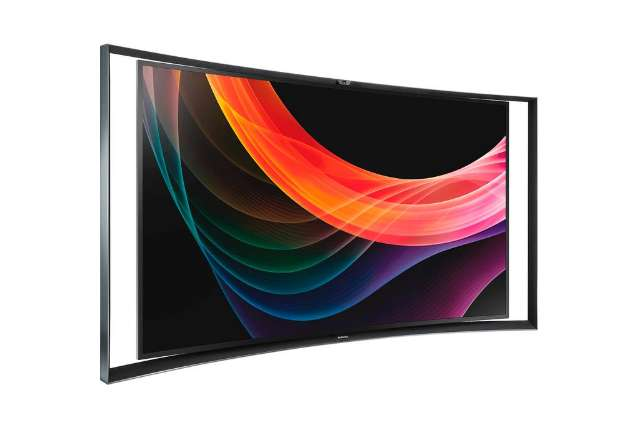 Samsung gebogen OLED TV in september in de winkel