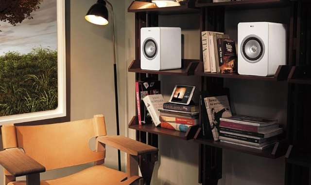 Draadloze versie van KEF X300-speakers