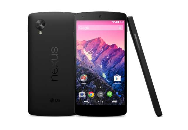 Nexus 5 is er en kost 399 euro