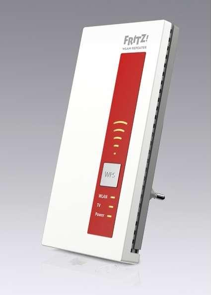 AVM-kastje verdeelt kabel-tv door huis