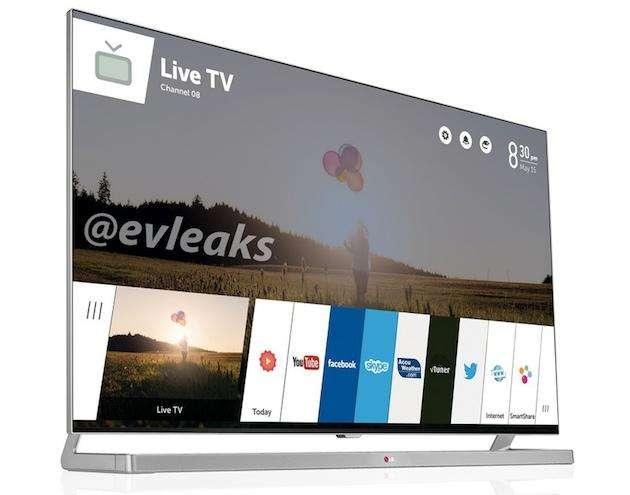 Komt LG met een Smart TV gebaseerd op webOS?