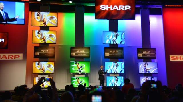 Sharp lanceert hybride Full HD-4K-tv