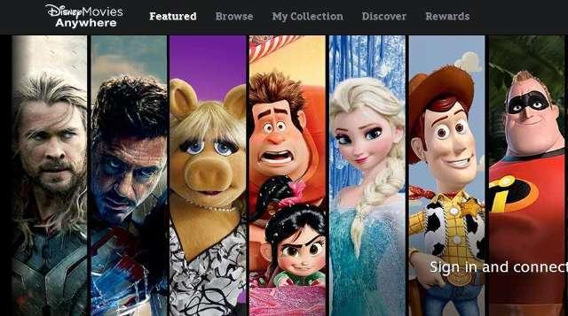 Disney biedt zijn films aan via streaming