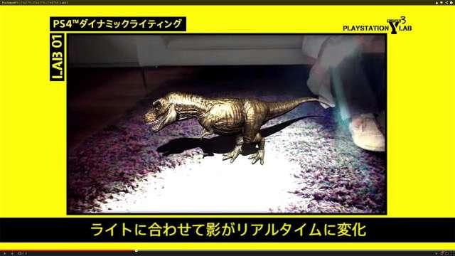 De PS4 brengt dinosauriërs tot leven in de woonkamer
