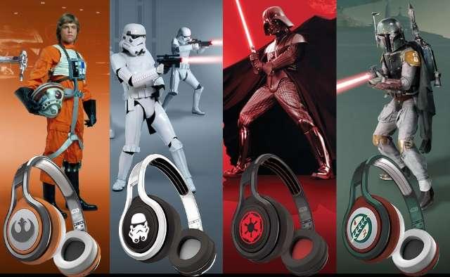 Hoofdtelefoons brengen Star Wars naar je oren