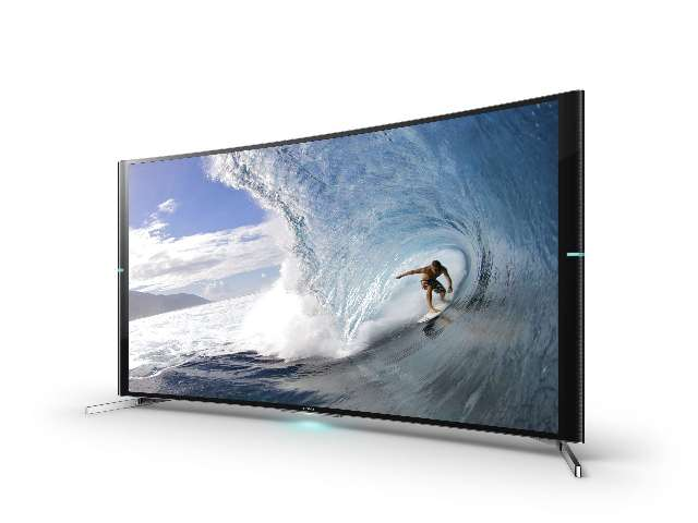 Sneak-preview: Sony toont de gebogen Bravia S90 Ultra HD TV