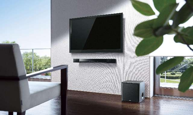 Yamaha presenteert soundbar en tv-soundbooster