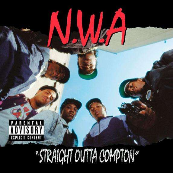 Trailer voor N.W.A. biopic Straight Outta Compton