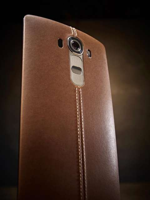LG G4 pakt uit met lederen afwerking en lichte kromming