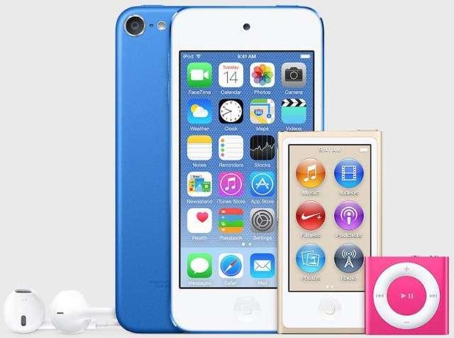 Apple vernieuwt iPods